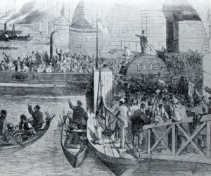 The Thames in 1851 – an elongated cesspool!